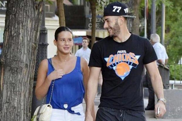 Karim Benzema and Chloe de Launay
