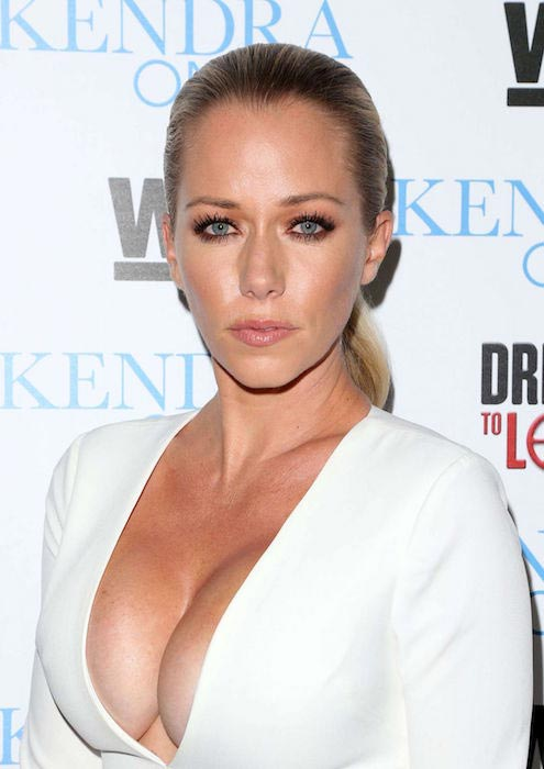 """Kendra Wilkinson at the premiere of """"Kendra on Top"""" and """"Driven to Love"""" in California in April 2016"""