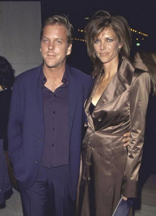 Kiefer Sutherland and Kelly Winn