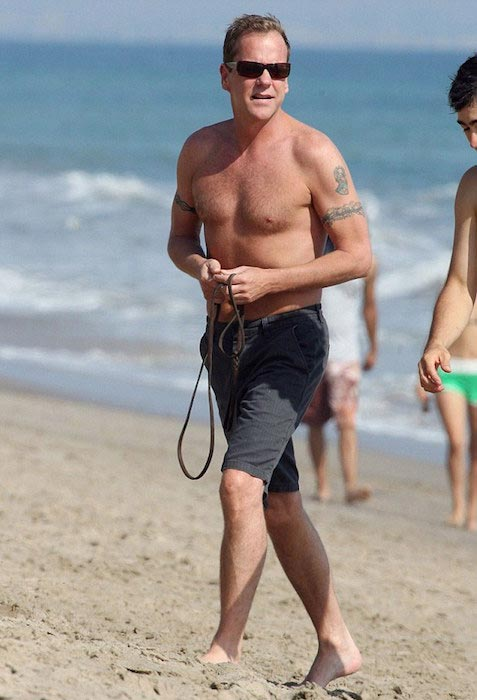 Kiefer Sutherland Shirtless Body