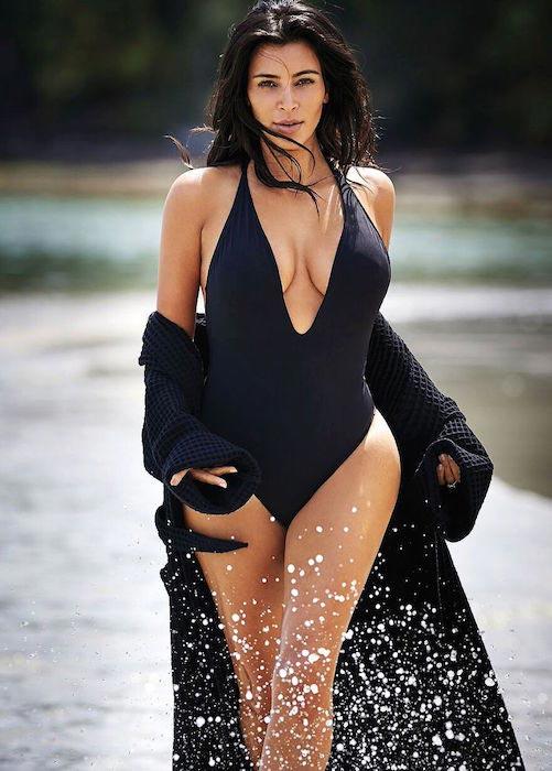 Kim Kardashian West for Editorialist magazine's Spring 2016 issue