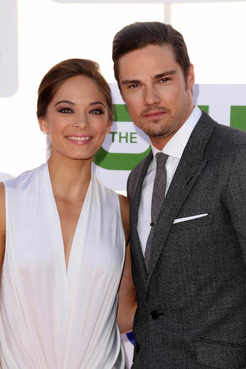 Kristin Kreuk and Jay Ryan at 2012 TCA Summer Tour