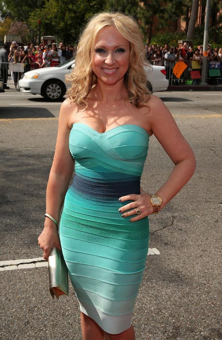 Leigh-Allyn Baker at Nickelodeon's 2014 Kids' Choice Awards