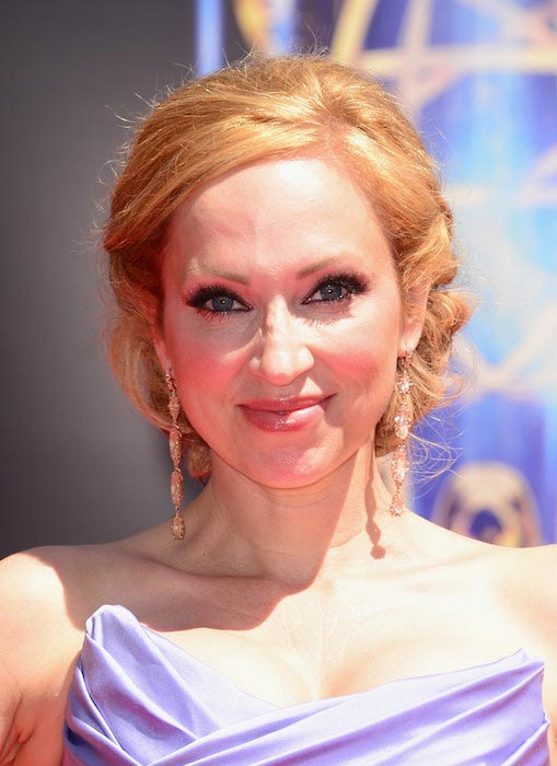 Leigh-Allyn Baker at the 2014 Creative Arts Emmy Awards