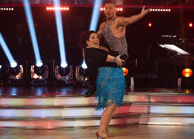 "Lisa Riley and Robin Windsor on ""Strictly Come Dancing"""