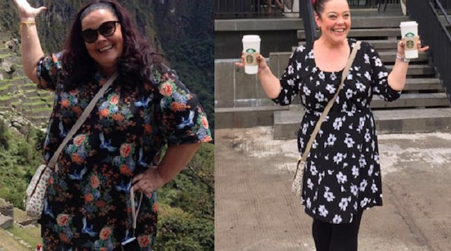 Lisa Riley before and after