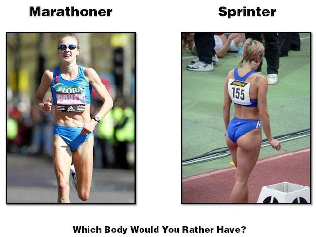 Marathon Runner vs Sprinter