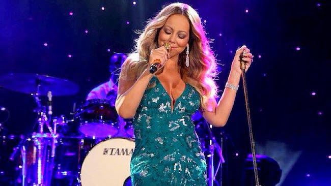 Mariah Carey at New Year 2016 Eve, Live Palladium at Clown