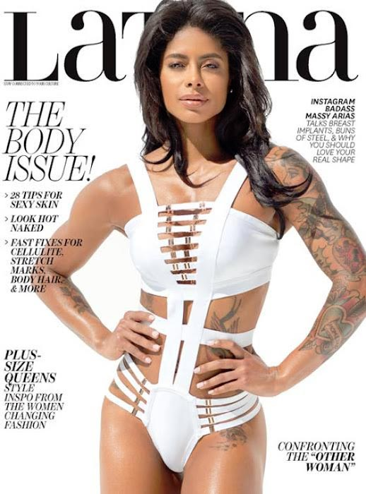 Massy Arias on Latina cover