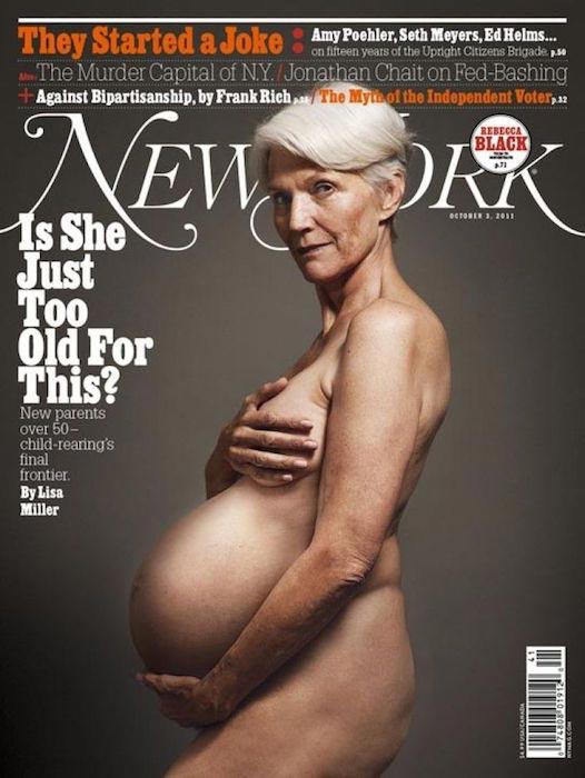 Maye Musk on New York Magazine cover