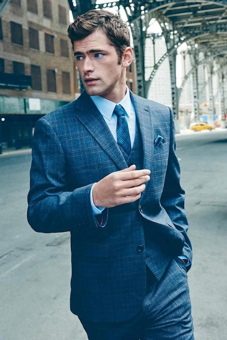 Sean O'Pry during Next Fall 2015 photoshoot