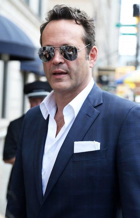 Vince Vaughn in New York while promoting his TV series True Detective on June 19, 2015