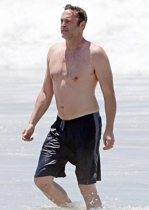 Vince Vaughn shirtless body