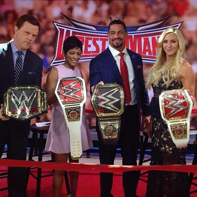 WWE stars Charlotte, Roman Reigns and others