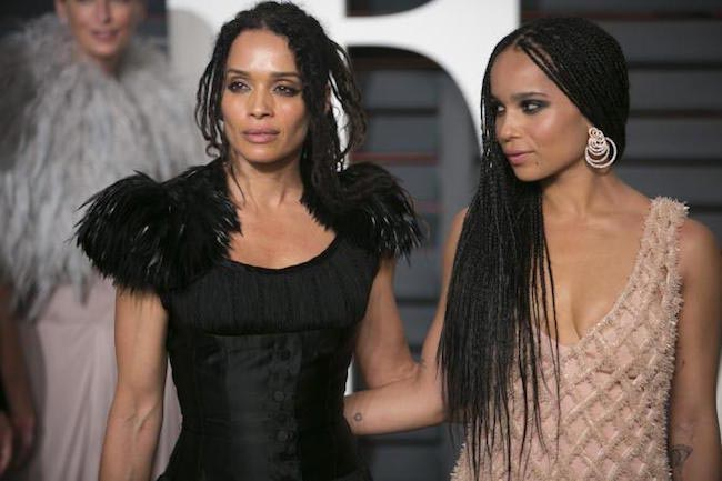 Zoe Kravitz and Lisa Bonet
