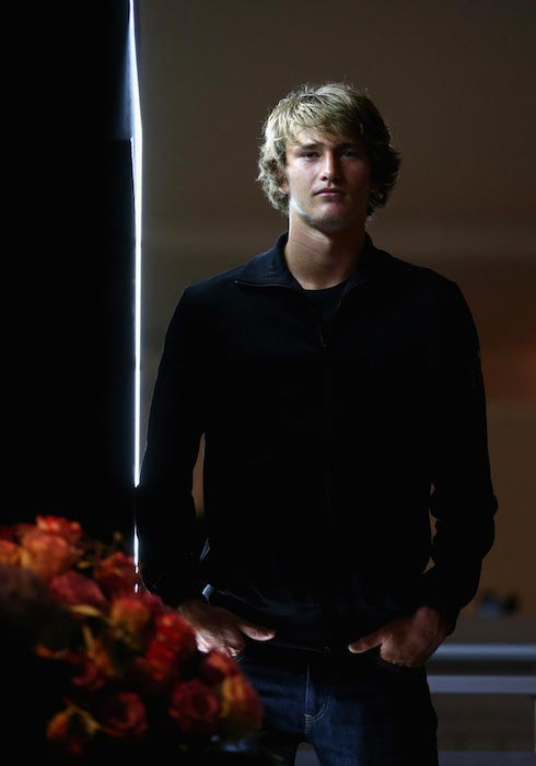 Alexander Zverev at the ProAm Gala Dinner of the BMW Open on April 23, 2016 in Munich, Germany