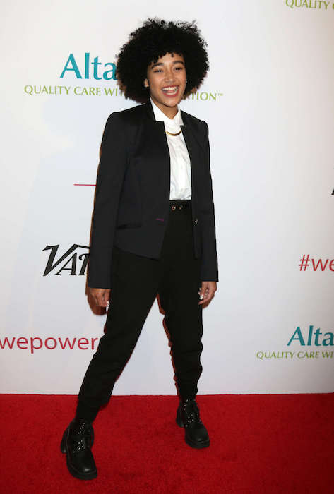 Amandla Stenberg at AltaMed Power Up We Are The Future Gala 2016