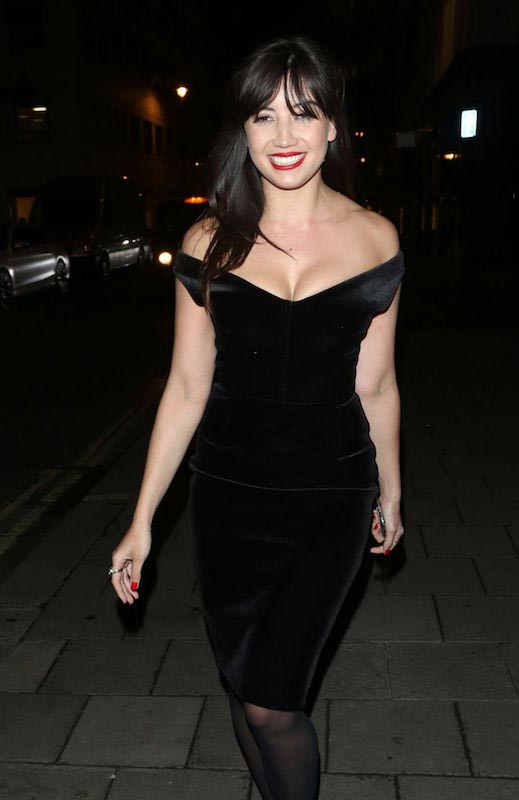 Daisy Lowe at GQ Men Collections Closing Dinner in Mayfair in London in 2016