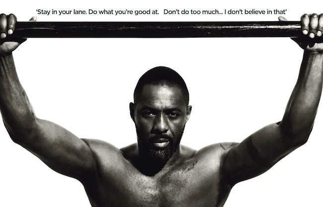 Idris Elba body