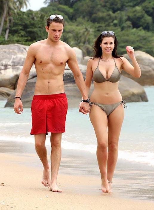 Imogen Thomas with boyfriend Adam Horsley