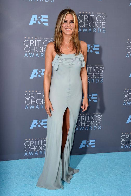 Jennifer Aniston at 2016 Critics Choice Awards in Santa Monica