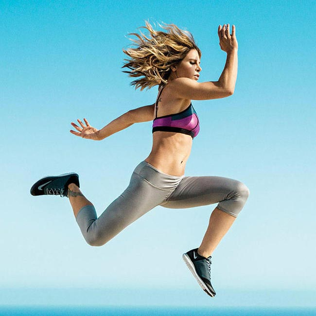 Jillian Michaels on the cover