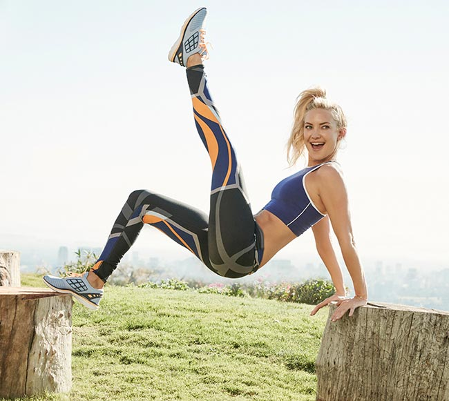 Kate Hudson working out