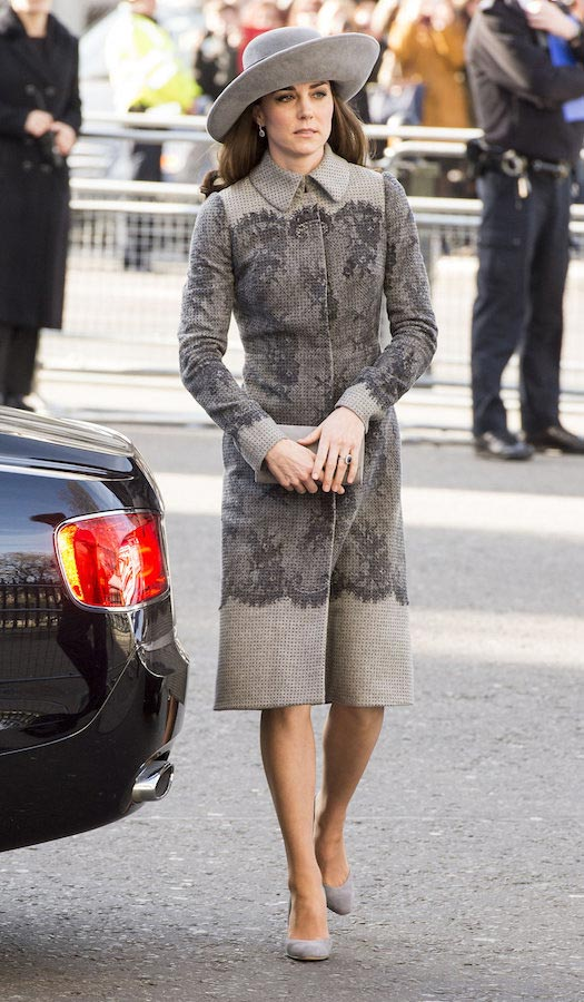 Kate Middleton style as of March 2016