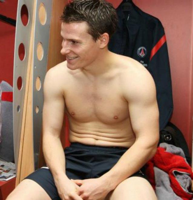 Kevin Gameiro shirtless body