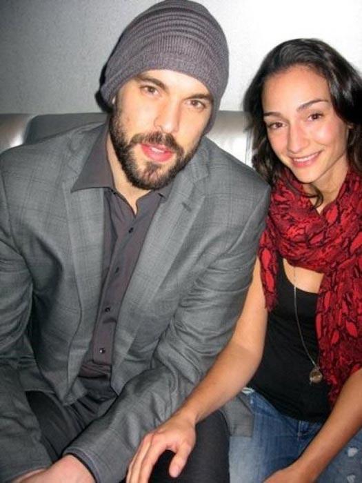 Marc Gasol and his wife Cristina Blesa