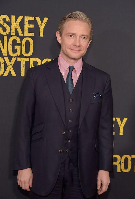Martin Freeman at the premiere of Whiskey Tango Foxtrot at on March 1, 2016