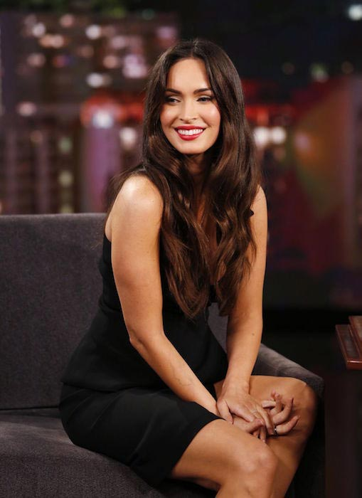 Megan Fox at Jimmy Kimmel Live in Hollywood in February 2016