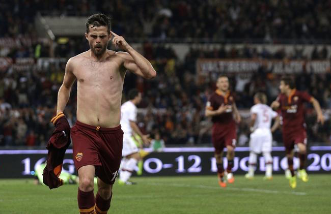 Miralem Pjanic shirtless body