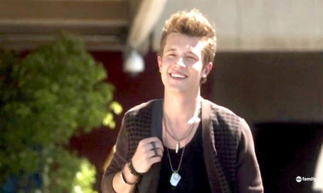 Nick Roux in a still from ABC's Jane By Design in 2012
