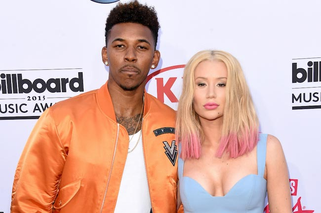Nick Young and Iggy Azalea in 2016