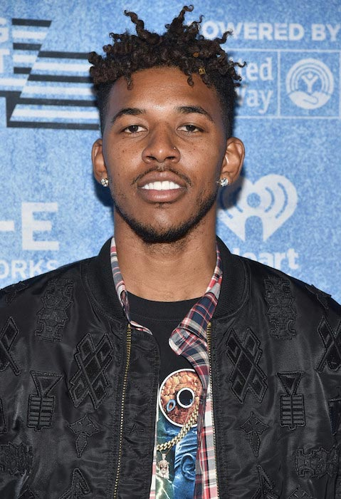 Nick Young during a concert at the Shrine Auditorium on November 18, 2015 in Los Angeles, California