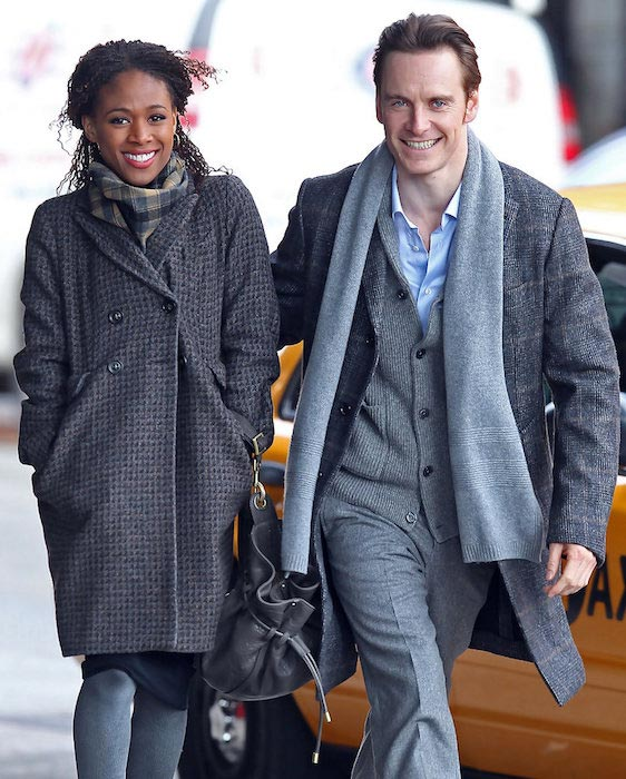 Nicole Beharie and Michael Fassbender