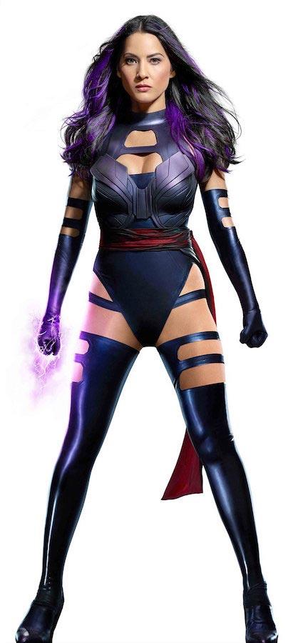 Olivia Munn as in X-Men: Apocalypse