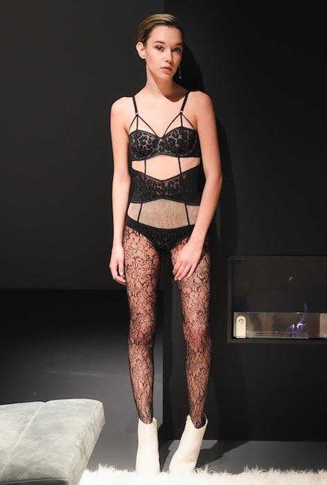Sarah Snyder at the Calvin Klein fall 2016 presentation