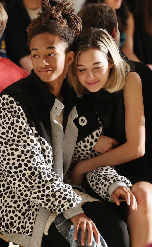 Sarah Snyder and her boyfriend Jaden Smith