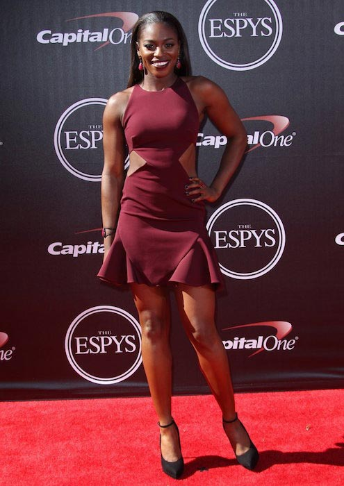 Sloane Stephens at the 2014 ESPYS Awards