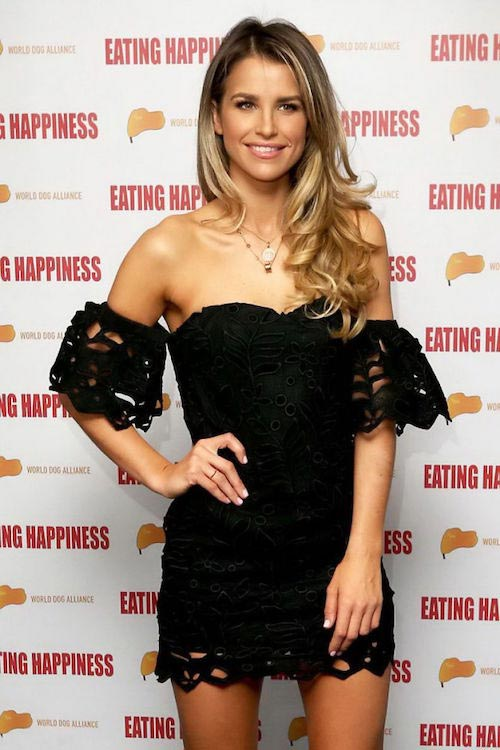 "Vogue Williams at ""Eating Happiness"" VIP screening in London on January 25, 2016"
