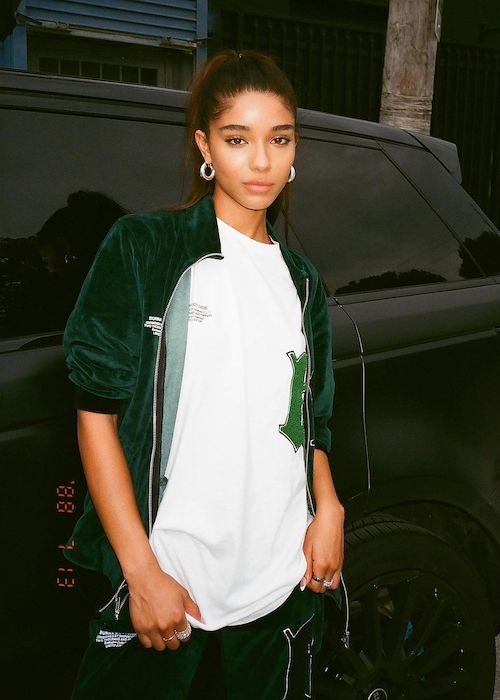 Yovanna Ventura as seen in October 2020 wearing boohooMAN clothing