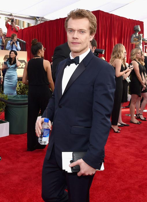 Alfie Allen at The 22nd Annual Screen Actors Guild Awards on January 30, 2016
