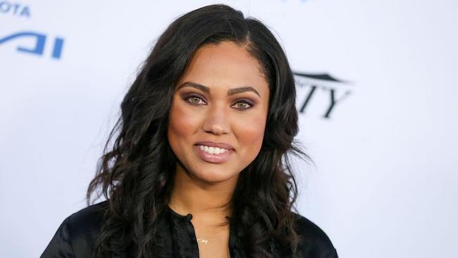 Ayesha Curry close up