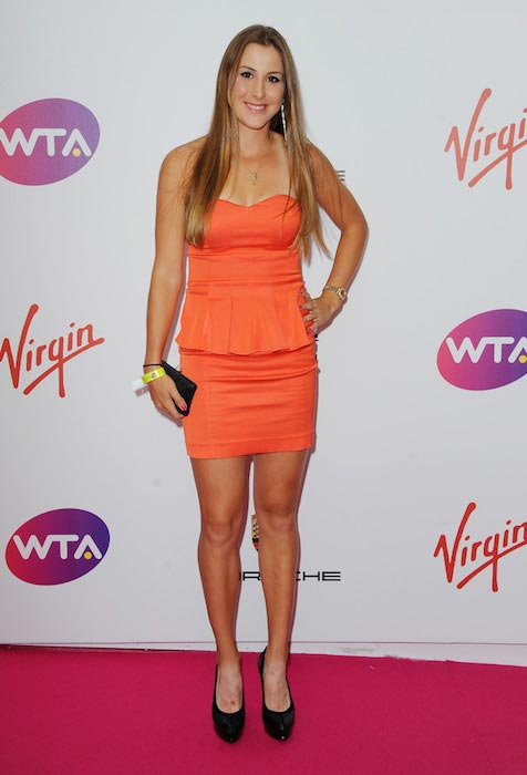 Belinda Bencic at Wimbledon's Pre-Party on June 19, 2014 in London, England