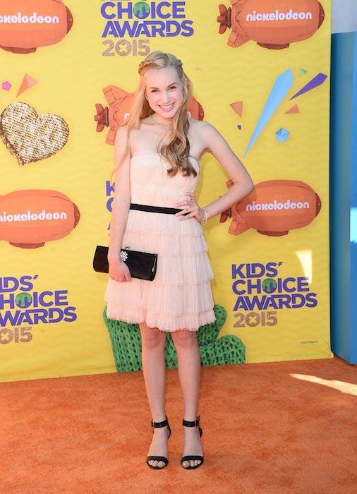 Brady Reiter during Nickelodeon's Kids' Choice Awards 2015