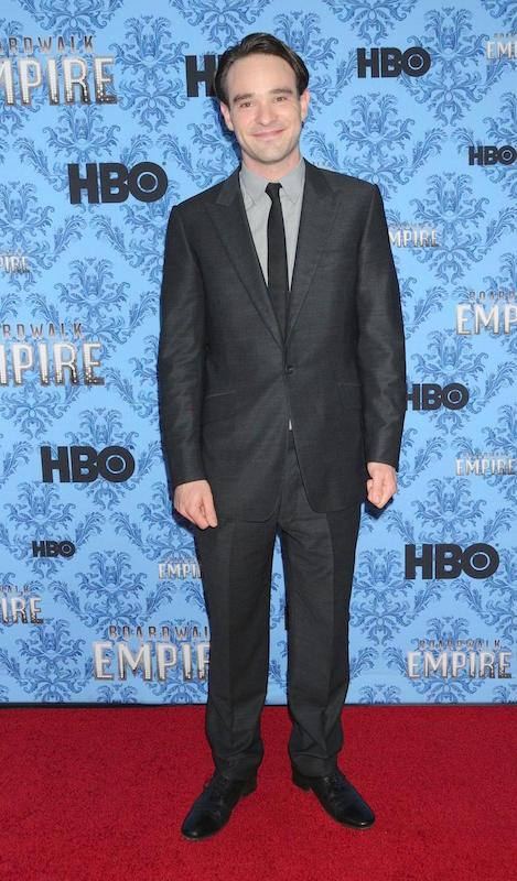 Charlie Cox at Boardwalk Empire season 3 premiere in New York