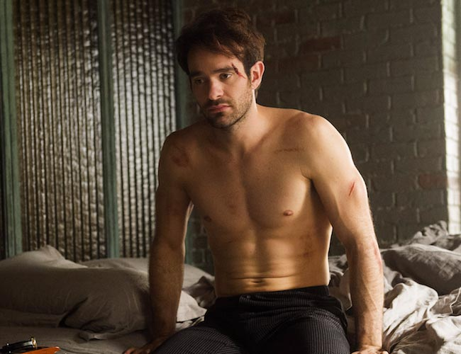 Charlie Cox shirtless body