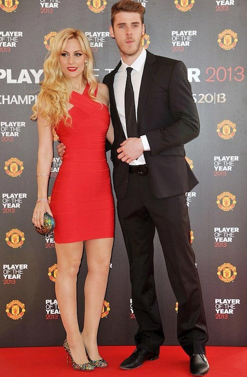 David De Gea and his longtime girlfriend Edurne Garcia Almagro